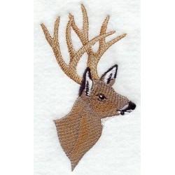 hlava křížence jelena