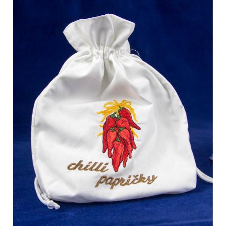 pytlík na sušené chilli papričky