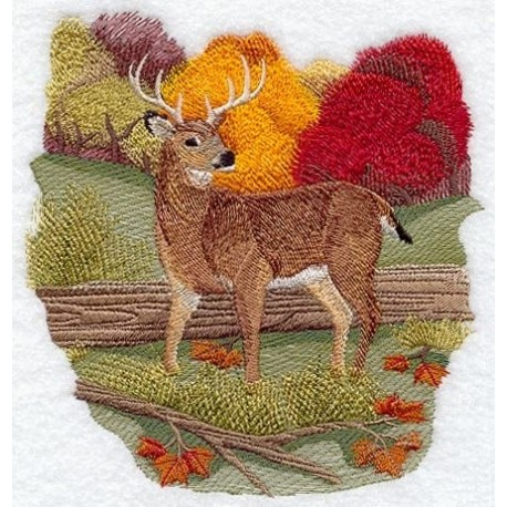jelen na podzim