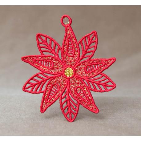 Vánoční hvězda 2D
