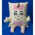 Petra s růžovou mašlí