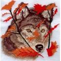 vlk na podzim