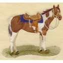 osedlaný kůň