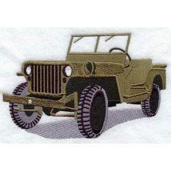 vojenský jeep 1944