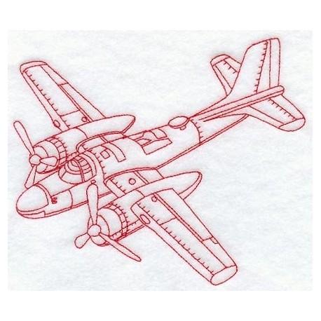 bombardér - obrys