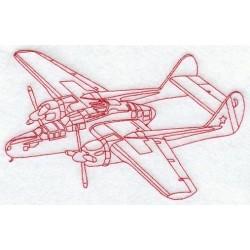 letadlo - obrys