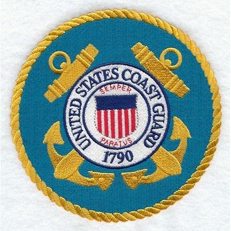 nášivka - Pobřežní hlídka USA