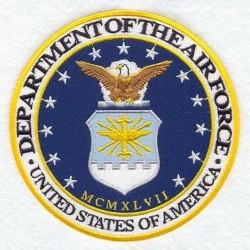 nášivka - Velitelství letectva USA