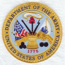 nášivka - Velitelství armády USA
