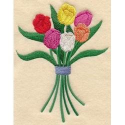kytice tulipánů