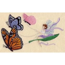 víla a motýli