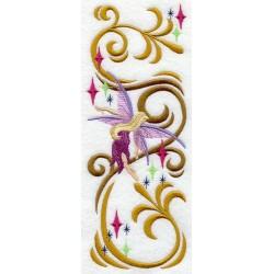 víla - ubrusový ornament