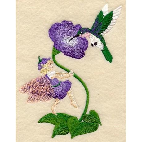 víla a kolibřík