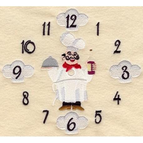 ciferník se šéfkuchařem