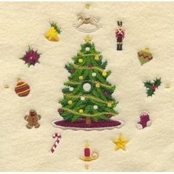vánoční ciferník