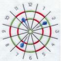 ciferník - šipky