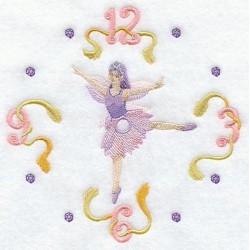 ciferník s tančící vílou
