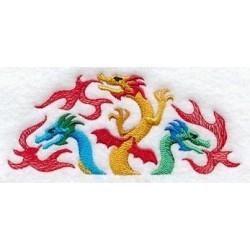 trio draků