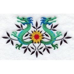 drak a květy