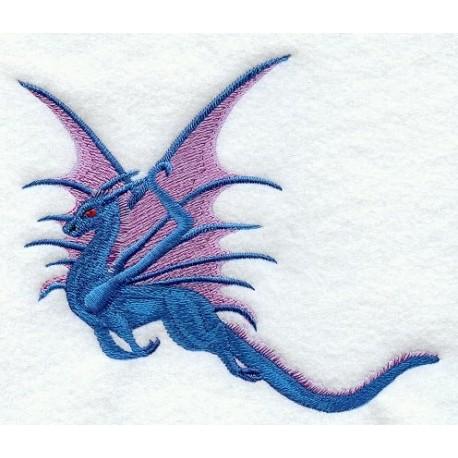 letící drak