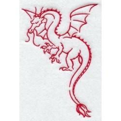 korejský drak-grafika