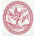 drak a jeho zloba - obrys
