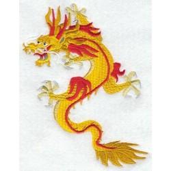žlutý drak