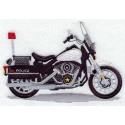policejní motocykl