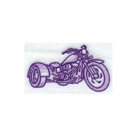 trojkolový motocykl - obrys