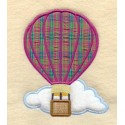 horkovzdušný balón-aplikace