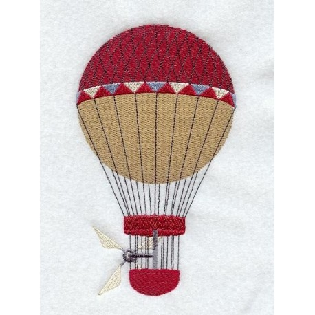 horkovzdušný balón-starobylý