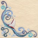 placetnice - roh ubrusu