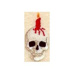 lebka a svíčka