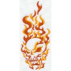 ohnivá lebka II