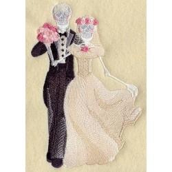 kostra ženicha a nevěsty