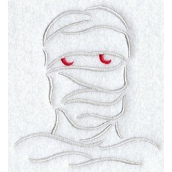 mumie - obrys