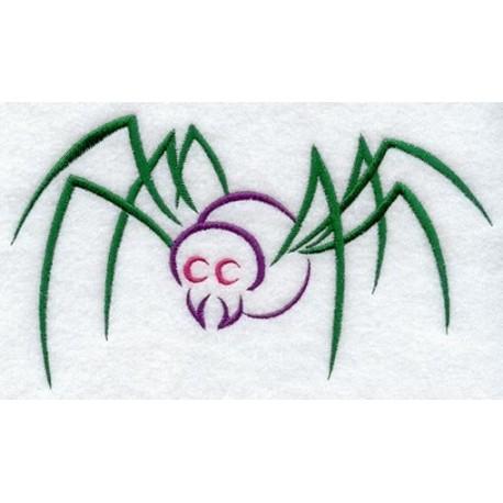pavouk - obrys