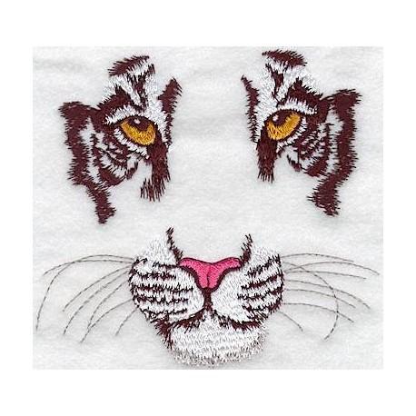 výraz tygra