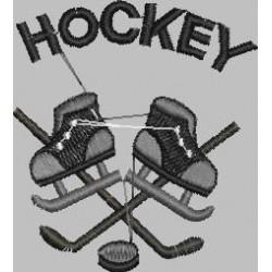 brusle a hokejky